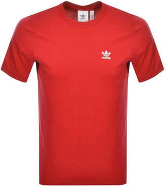 adidas Essential T Shirt Red