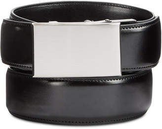 Exact Fit Men's Leather Casual Belt