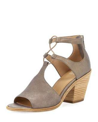 Eileen Fisher Lou Metallic Suede Sandal