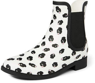 Alice + Olivia Rainely Rubber Gored Rain Boots