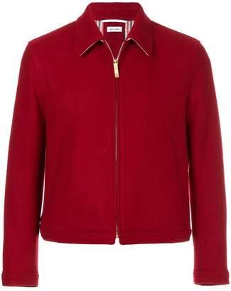 Thom Browne Button-Back Pilot Cloth Melton Golf Jacket
