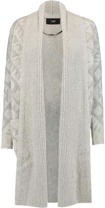 Line Sienna intarsia-knit cardigan $350 thestylecure.com