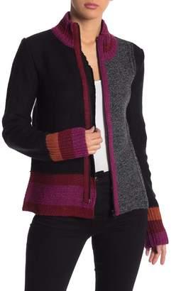 Desigual Tatiana Front Zip Sweater