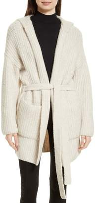 ATM Anthony Thomas Melillo Hooded Sweater Coat