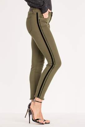 Miss Me Velvet Stripe Jean