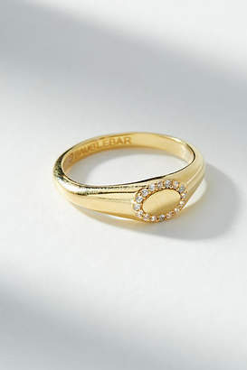 Anthropologie Oval Signet Ring