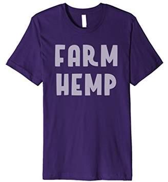 Farm Hemp Statement Conversation-Starter TShirt