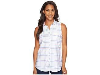 Columbia Super Harborside Woven Sleeveless Shirt Women's Sleeveless