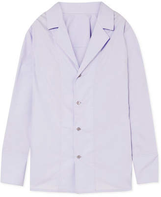 Marni Cotton-poplin Shirt - Lilac