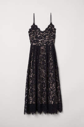 H&M Lace Dress - Black