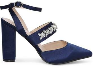 Dorothy Perkins Womens *Chi Chi London Navy Embellished Court Shoes