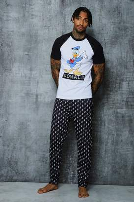 boohoo Disney Donald Duck Pyjama Set