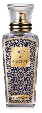 Les Heures Voyageuses Limited Edition Oud& Santal Parfum/2.5 oz