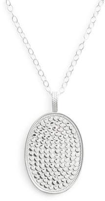 Anna Beck Large Oval Long Pendant Necklace