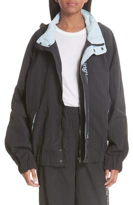 Opening Ceremony Crinkle Nylon Wind Jacket