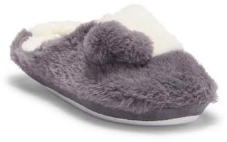 Patricia Green Patch Faux Fur Slipper