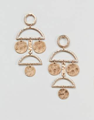 Pieces Disc Earrings