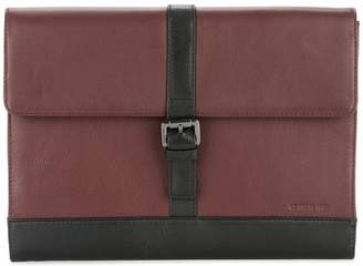 Cerruti foldover clutch bag