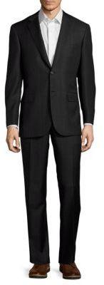 BrioniWool Tonal Plaid Suit