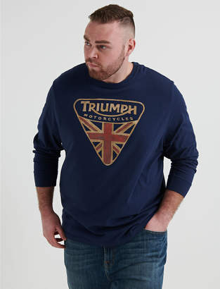 Lucky Brand BIG AND TALL TRIUMPH BADGE TEE
