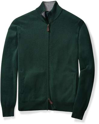 Buttoned Down Men's 100% Cashmere Full-Zip Sweater Sweater
