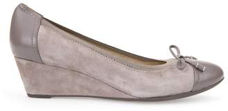 Geox Leather Ballet Pumps