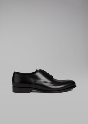 Giorgio Armani Smooth Calfskin Leather Derby