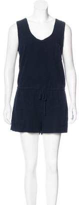 Steven Alan Sleeveless Terry Cloth Romper