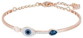 Swarovski Evil Eye Bangle Bracelet