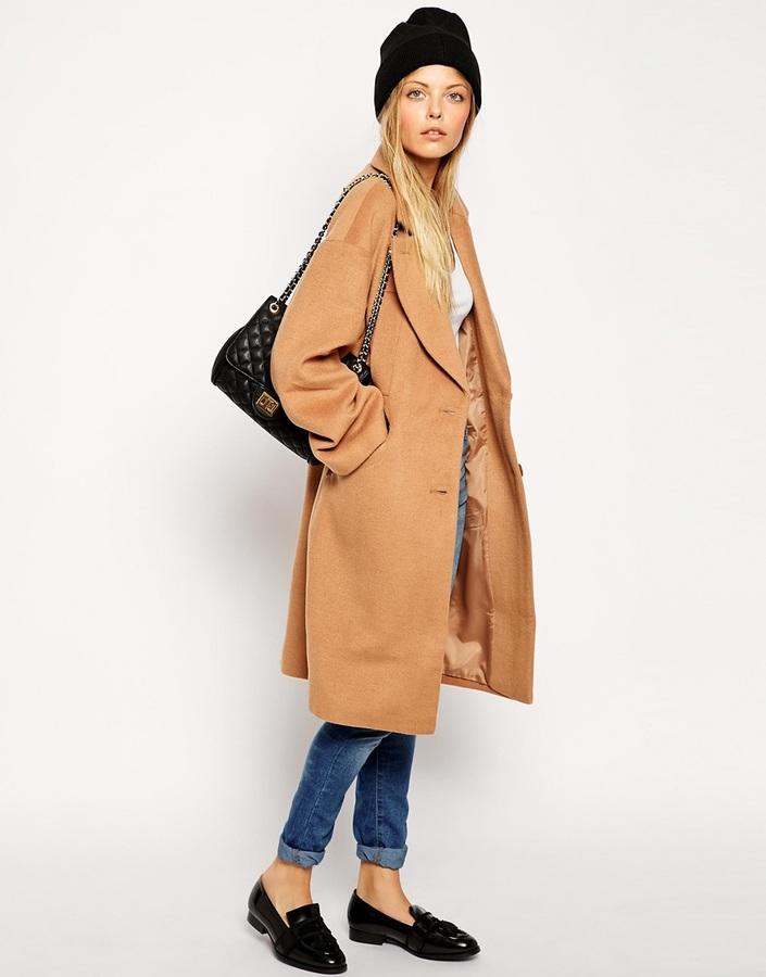 ASOS TALL Cocoon Coat 2