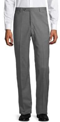 Zanella High Twist Wool Dress Pants