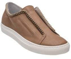 Andre Assous Danica Leather Slip-On Sneakers