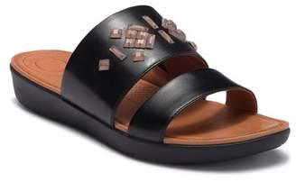 FitFlop Delta Leather Slide Sandal