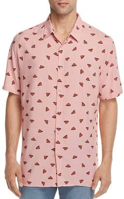 Barney Cools Watermelon Regular Fit Button-Down Shirt