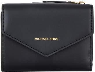 MICHAEL Michael Kors Small Leather Jet Set Envelope Wallet
