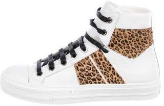 Amiri Leather High-Top Sneakers w/ Tags