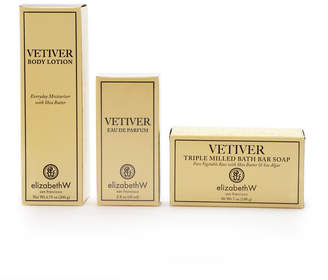 elizabeth W Elizabethw Vetiver Eau de Parfum, Body Lotion & Bar Soap Set