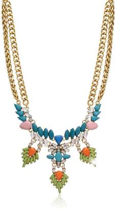 Passiana Turquoise Crystal Necklace