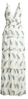 Ramy Brook Women's Toleda Silk-Blend Maxi Dress
