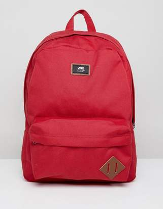 Vans Old Skool II Backpack In Red V00ONI14A