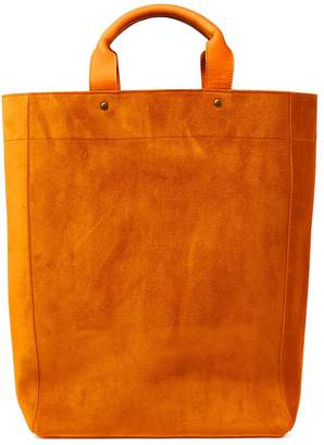 Dries Van Noten Suede Shopper Tote