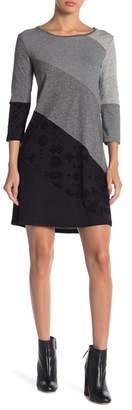 Desigual Amber Striped Knit Dress