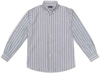 Il Gufo Striped cotton shirt