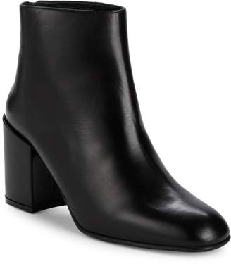 Stuart Weitzman Instep Block Heel Ankle Boots