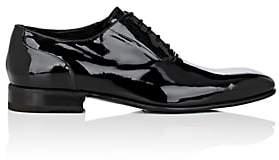 Harris Men's Patent Leather Balmorals - Black