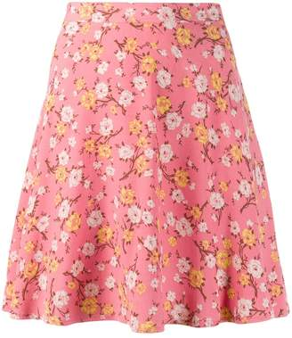 Polo Ralph Lauren floral print mini skirt