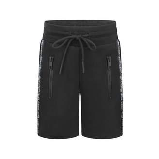 Antony Morato Antony MoratoBlack Branded Bermuda Shorts