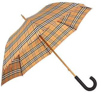 Burberry Vintage Check Walking Umbrella
