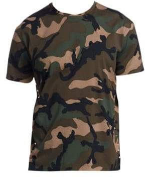 Valentino Camouflage Stud Tee