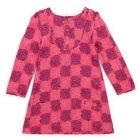 Little Girl's Roundneck Long Sleeve Dress